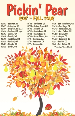 Pickin Pear Fall Tour 2017b